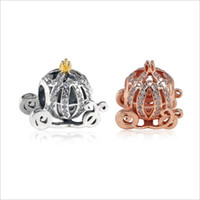 2020 New Authentic 925 Sterling Silver Openwork Pumpkin Char...