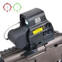 Neue 558 holographische rot grüne dot Sehenswürdigkeit taktische Gewehr Gültigkeitsgut optische Sichtreflex-Anblick mit 20mm Geltungsbereiche