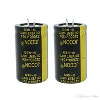 JCCON سميكة قدم مكثف كهربائيا حجم 35v22000uf 30 * 50 العاكس السلطة قوة الصوت مكبر للصوت مكثف