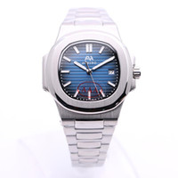 2020 Горячая распродажа U1 заводской AEHIBO синий циферблат автоматические механические мужские часы 40 мм из нержавеющей стали мужские часы наручные часы