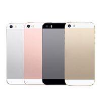 Lot iphone 5 Için Test Parçaları Geri konut Pil Kapağı meclisi iphone 5 5g için özel Komple IMEi Flex Kablo + Düğmeler