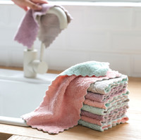 Vajilla de alta eficiencia de limpieza del hogar toalla súper absorbente de microfibra cocina paño paño Kichen herramientas Gadgets