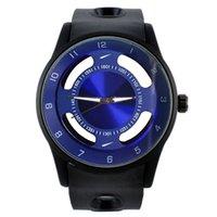 Mode Marke LOGO Frauen Männer hohlen Stil Silikon Band Quarz Armbanduhr N06