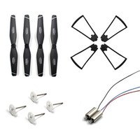 SG106 RC DRONE Ersatzteile Verbrauchsmaterialien Package Propeller + Motor + Abdeckung + Getriebewellenbaugruppe
