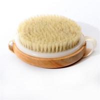 شعيرات فرشاة شعيرات طبيعية فرشاة ماساج للرعاية الصحية فرشاة استحمام للحمام