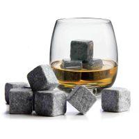 No diluir bebidas Whisky Ice Stones 9PCS