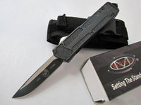 Özel Fırsat! 10 Stiller Microtech troodon Scarab S / E En İyi Otomatik Bıçak Marfione Özel troodon Halo v A07 Hediye Knife Bıçak