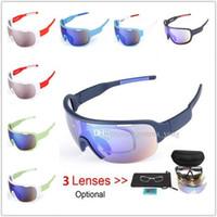 Рыбалка Очки Солнцезащитные очки Вождение Велоспорт Очки Anti UV400 ПК Взрывозащищенные Солнцезащитные Очки Спортивные Мужские Мужчины Велосипедные Очки Дешевые