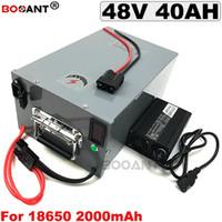 48 V E-bike Lithium batterie pack 48 V 40AH Elektrische Fahrradbatterie 48 V für Bafang 2000 Watt 2500 Watt Motor + 5A Ladegerät Freies Verschiffen