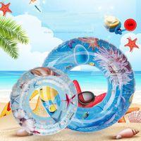 Anillo de natación inflable Adultos Nadar Anillo Flotador Tubo Nadar Flotador Niños Niños Nadado Anillo Verano Playa Piscina Juguete 60-90cm
