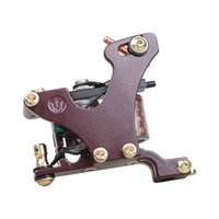 DragonHawk Shader Tätowierpistole Professionelle Färbung Tätowierungsmaschine 110Hz Kupferspulen-Legierungsrahmen 4149