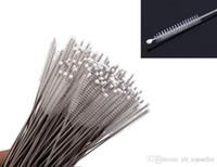 Spazzola di pulizia delle bottiglie della spazzola di pulizia del cavo del filo di acciaio inossidabile di vendita calda 1000pcs / lot Trasporto libero