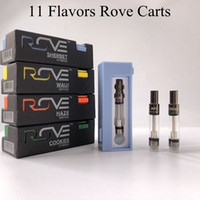 New Rove Vape Cartridges 0. 8ml 1ml Ceramic Coil Empty Vape P...