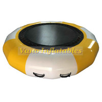 2.5m Água trampolim para venda ao ar livre de PVC inflável da água Bouncer salto Brinquedos para Adultos Crianças Bomba gratuito frete grátis