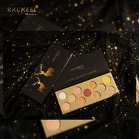 PACHEEL 11 Colores Estrellas Elk Wet Soft Eyeshadow Palette Shimmer Mate Sombra de ojos Barro Smoky Eye Makeup