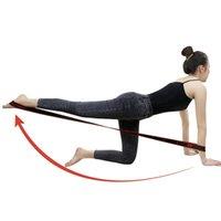 Продажа полос сопротивления 8 Сетка Цифровые позиции Эластичные ленты Растяжения для фитнес-йоги Латинский танец
