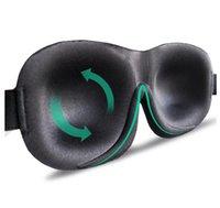 ترقية النوم 3D قناع إجمالي اييشادي التعتيم النوم المساعدات للراحة السفر معصوب العينين لينة قناع النوم العين النساء الرجال Eyepatch