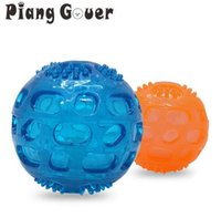 Dog Toy Green Ball Toys Squeaking Interactive Puppy Chewing Pet Toys For Small Large Dogs Training Playing Teeth Cleaning