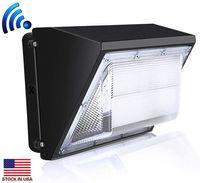 미국 옥외 LED 벽 팩 빛 100W 산업 벽 팩 전등 빛 데이라이트 5000K AC90-277V CRI75 IP65 DLC의 ETL의 주식은 상장