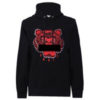 Brand Hoodie Tiger Head Embroidered Designer Men Women Sweat...