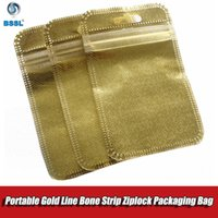 Promotion Gold Silver pearl PVC Plastic Non- woven Fabric Zip...