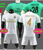 2019 Real Madrid home Soccer Jerseys 19 20 Real Madrid home Maglia da calcio per bambini kit MODRIC ASENSIO VINICIUS JR ISCO KROOS Calcio uniforme