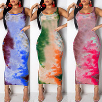 Cotton Blend Ruched Drawstring Sexy Party Dress Womens Sleev...