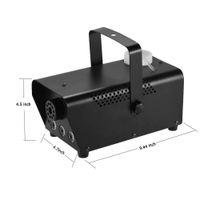 Venda quente 500W LED nevoeiro 110V-230V lâmpadas LED RGB máquina de fumaça Máquina Professional nebulizador Hazer Device Stage do disco do DJ DMX Equipment