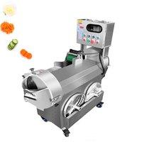Hot Automatische Gemüseschneidemaschine Multifunktions- kommerzielle Hackmaschine Gemüseschneider Leek und Kohl Schalotte slicer