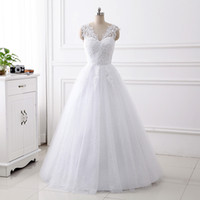 New Arrival Beads Ball Gown Empire Wedding Dress Plus size Gowns Floor Length Lace-up Back Sleeveless Dress Maternity Pregnant Woman Custom