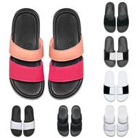 commercio all'ingrosso uomo donna designer BENASSI ultra pantofole nero bianco per l'estate beach hotel shower room coperta sandali mens antiscivolo taglia 36-45