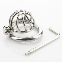 Male Chastity Device Unique Design Stainless Steel Chastity ...