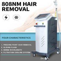 2020 Новые популярные 808nm диодный лазер постоянного удаления волос красота машина 808nm длина волны для всех типов волос удаления судоходство бесплатно