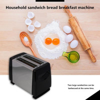 750W Automatic 2-Slice محمصة 6-سرعة محمصة Stainless Stainler Steel Lacking Sandch Breakfast Machine For Home T200414