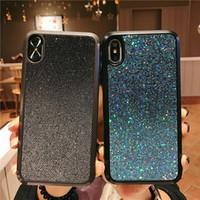 Для iPhone Cases блеск горный хрусталь телефон Case для iphone xr x xs max 8 7 6 plus мода премиум Bling Противоударный телефон задняя крышка для девочки