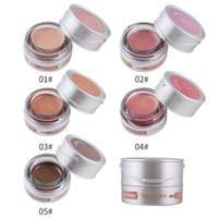 YANQINA Shimmer Eyeshadow Cream 5 colori Rosa Brown Rose Gold Waterproof Long Lasting Makeup Glitter Eyeshadow Paint