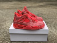 2019 Authentic 4 NRG Hot Punch 4s Woman Basketball Shoes For...