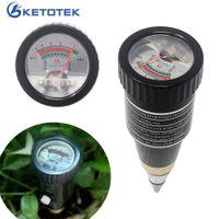 Alta sensibilità 2 in 1 Tipo di penna PH meter di acidità del terreno Misuratore di acidità del terreno Monitor per il Giardino PH Tester Igrometro