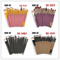Make Up Brushes set 20 pezzi MAANGE Powder Foundation Concealer Blush Ombretto Lip Brush Pennelli da trucco Kit Strumenti di bellezza