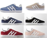 Wholesale Suede Gazelle Men Sneaker cheap Women Low Casual S...