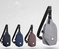 DHL 50pcs Cross body Bag Men Oxford Geometry Shaped Large Ca...