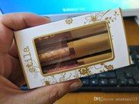 Stila Glitter Glow Liquid Shadow Shadow Set 3pcs Set Glitter On The Go Limited Edition Eyeshadow Kit DHL Frete Grátis