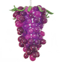 Mano libre del envío LED AC soplado en forma de lámpara de cristal ligero árabe uva púrpura del vitral de la lámpara de la lámpara