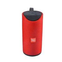 حار بيع اللاسلكية TG113 سماعات بلوتوث مضخم الصوت المحمولة يدوي مكالمة ستيريو باس دعم TF بطاقة TG-113