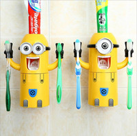 Hot Dropshipping Minion Automatic toothpaste dispenser Tooth...
