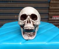 Пластиковый Мини Череп Человека Анатомические Удобные Украшения Ремесел Хэллоуин Привидения Украшения Дома Реквизит Офис Школьные Принадлежности