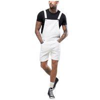 Jeans pour hommes surdimensionnaires Hommes Combinaisons Combinaisons Jumpseuit Jumpsuits 2021 Mode d'été Mode Denim Bib pour homme Pantalon