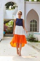 عطلات اللباس أزياء السيدات البوهيمي مثير فساتين الصيف فستان المرأة عادية غير النظامية الملابس الصيفية أنثى نصب منصة