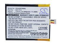 Cameron Sino High Quality Battery BAT-P10 for Acer E39, Liquid E700, Liquid E700 Triple