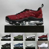 pretty nice ebf71 49bc1 2018 Nuevo Nike air max airmax vapormax TN Plus Air Olive Metalizado Blanco  Plata Colorways Shoes